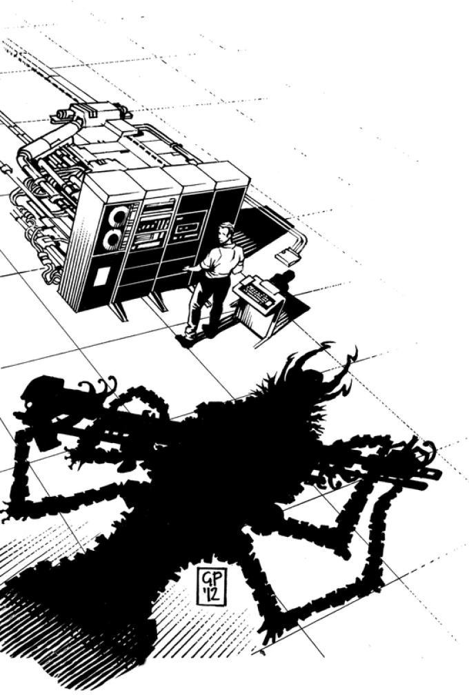 Robot 67 - Fredric Brown, Sentinella e La risposta