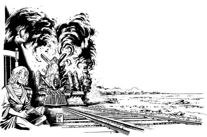 Robot 73 - Alain Voudì, Trainville
