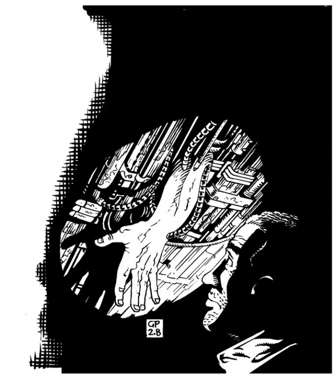 Robot 54 - Dario Tonani, Cardanica (primo racconto pubblicato di Mondo 9)