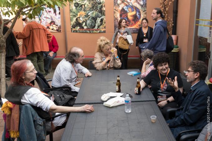 Relax in giardino, con Anna Mazzolid, Giuseppe Lippi, Jasmina Tesanovic, Anna Dal Dan e Paolo Aresi