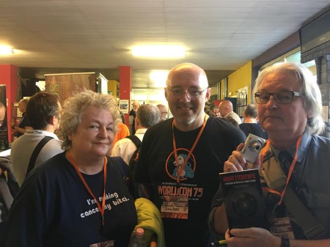 Pat Cadigan, Silvio Sosio, Bruce Sterling