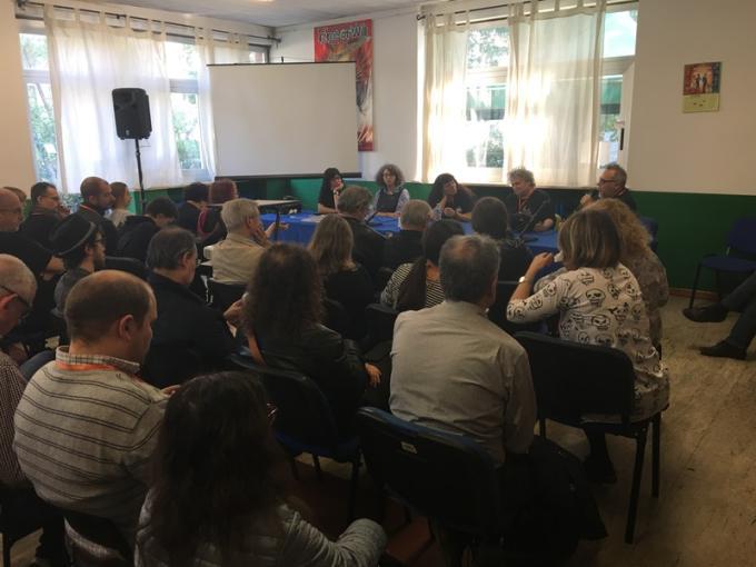 I volti del fantastico, con Selene Verri, Anne-Sylvie Salzman, Alda Teodorani, Pat Cadigan e Francesco Verso