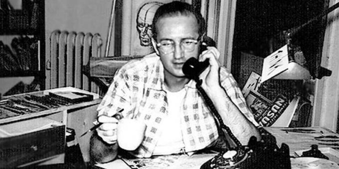 Steve Ditko (Johnstown, Pennsylvania, 2 novembre 1927 – New York, 27 giugno 2018) Artista e fumettista