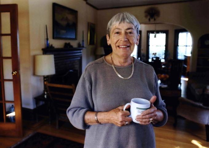 Ursula Kroeber Le Guin (Berkeley, 21 ottobre 1929 – Portland, 22 gennaio 2018) Scrittrice