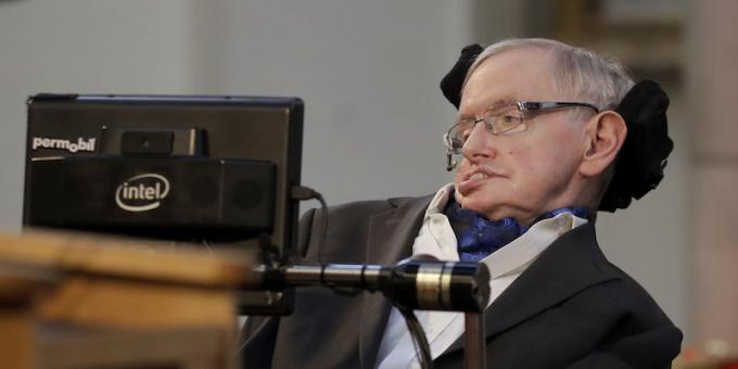 Stephen Hawking (Oxford, 8 gennaio 1942 – Cambridge, 14 marzo 2018) Astrofisico
