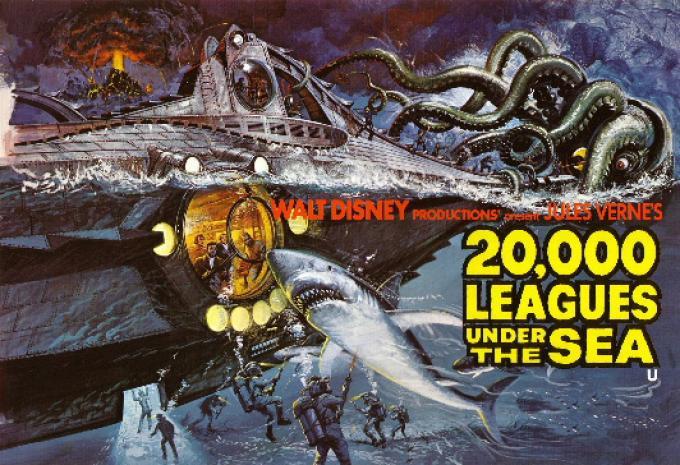 la locandina della versione Disney dell'epoca.