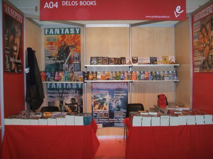 Lo stand Delos Books