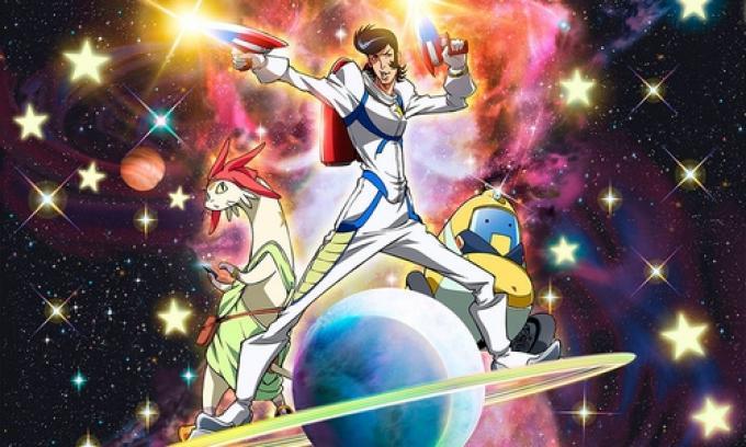 Space Dandy, un avventuriero spaziale sui generis...