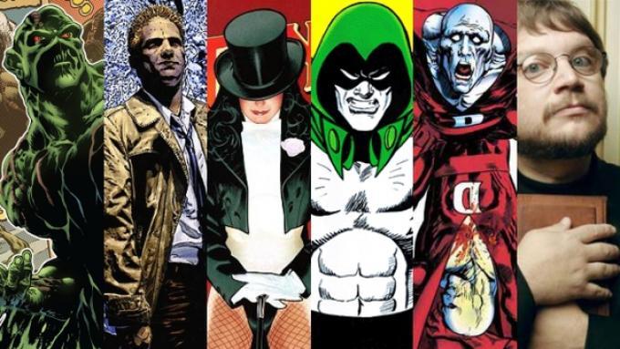 Tutti gli antieroi di Guillermo Del Toro.