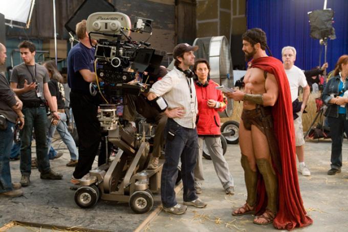 Zack con un famoso antenato di Superman.