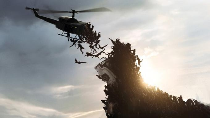 World War Z, una scena del film