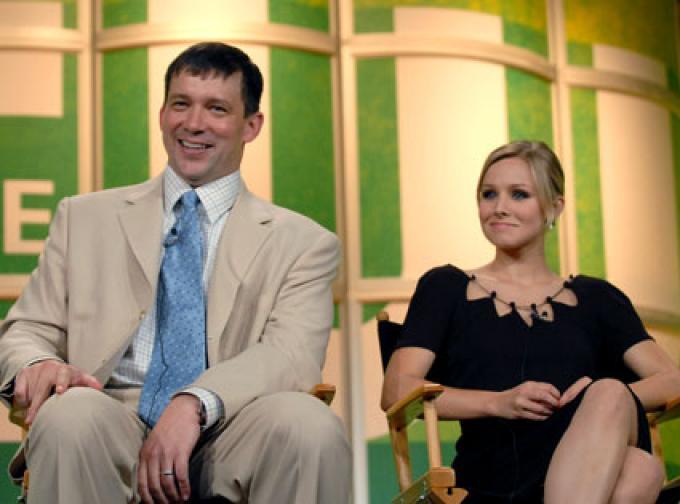Rob thomas e Kristen Bell. speriamo ci sia anche lei nell'astronave.