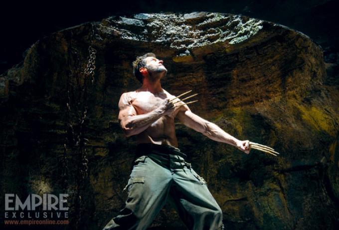 Anche Wolverine è finito nella prigione di Dark knight rises...