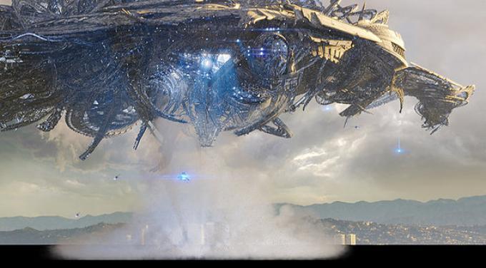 Questi alieni sollevano solo uno sbadiglio?