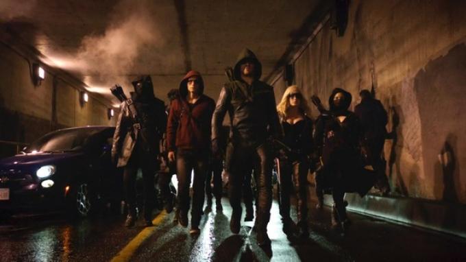 Arrow: l'unico eroe con la Justice League personale.