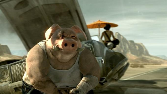 Un fotogramma dal vecchio trailer di Beyond Good & Evil 2