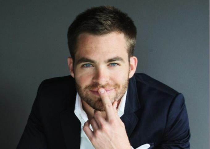 Chris Pine: torno subito in plancia...