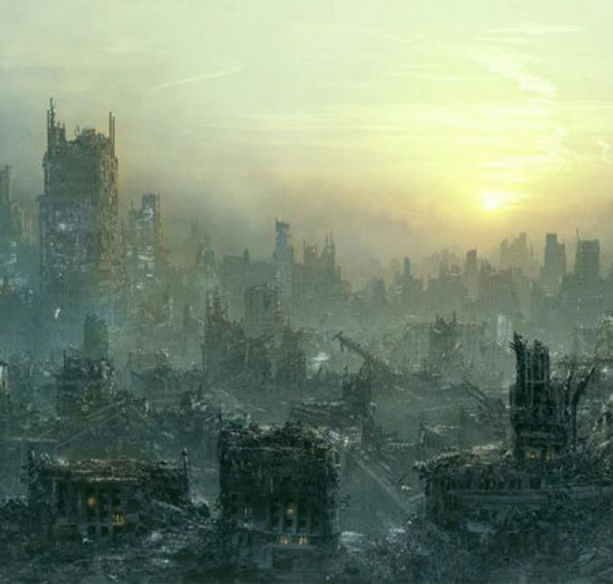 benvenuti alla fine del mondo.