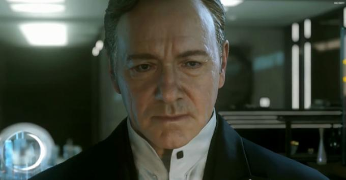 Kevin Spacey in versione digitale per Call of Duty