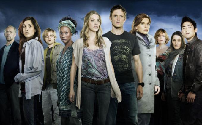 il cast della ex serie tv.