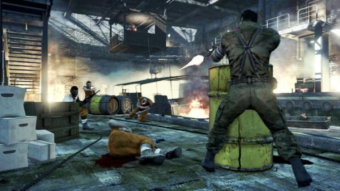 Un fotogramma dal dlc singleplayer di Dead Island
