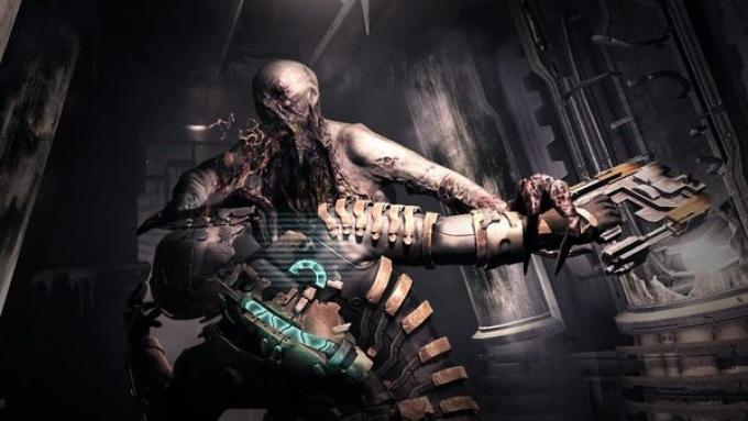 I necromorfi: muoiono solo se fatti a pezzi, in pieno stile Evil Dead
