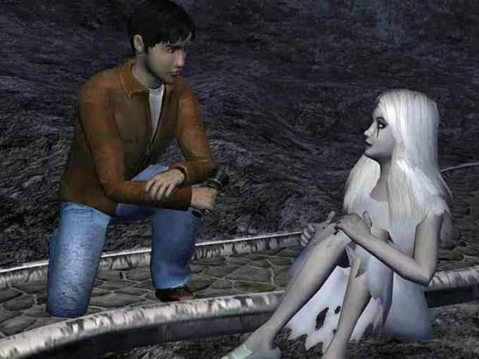 Un fotogramma dalla Tragedia sulla scogliera