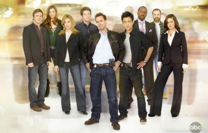 il cast di Flash forward.perlomeno, da cui al 29 aprile 2010