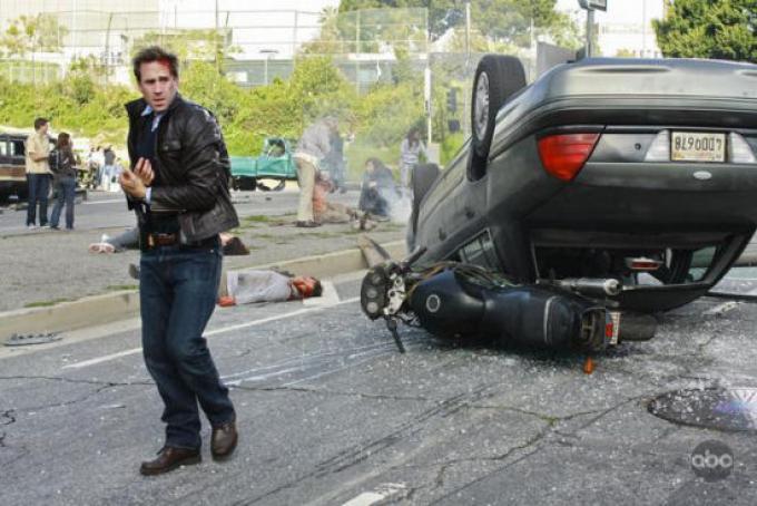 Una giornata normale nella vita di Jack Bauer. a parte che lui non è Kiefer Sutherland.