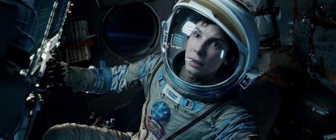 Sandra Bullock in <i>Gravity</i>