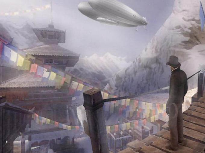Una dei primi screenshot ufficiali