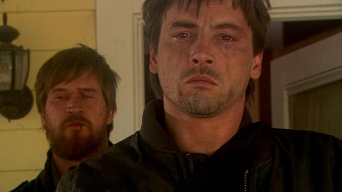 I due protagonisti, nella sequenza finale.