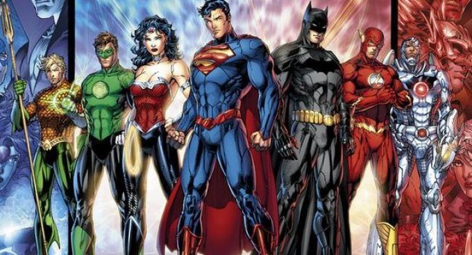il nuovo volto dei supereroi DC dopo il reboot delle serie a fumetti.