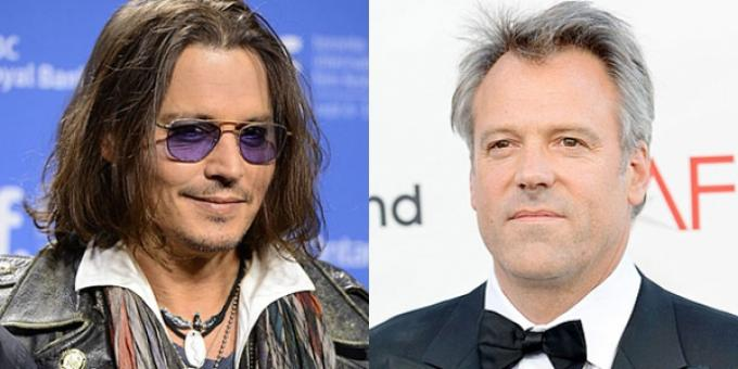 Johnny Depp e Wally Pfister stanno per trascendere.