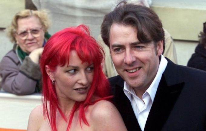 Jonathan Ross con la moglie Jane Goldman