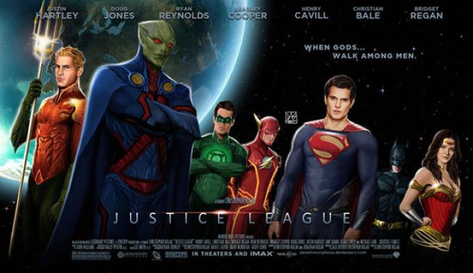 Vi piacerebbe una Justice league di questo tipo?