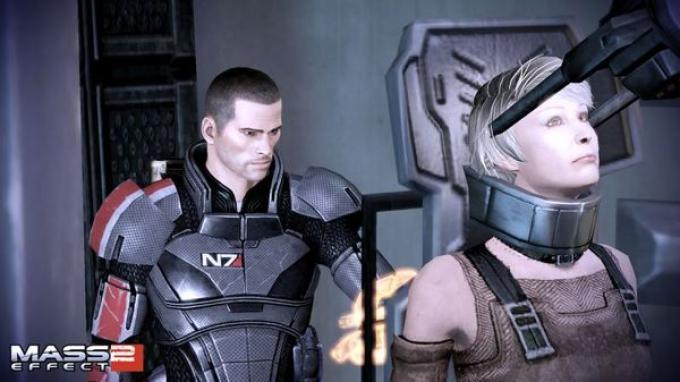 La dottoressa Kenson di Mass Effect 2: Arrival