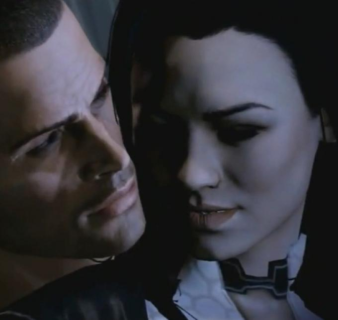 Miranda, ovvero la versione virtuale di Yvonne Strahovski che si può conoscere ehm approfonditamente in Mass Effect 2.