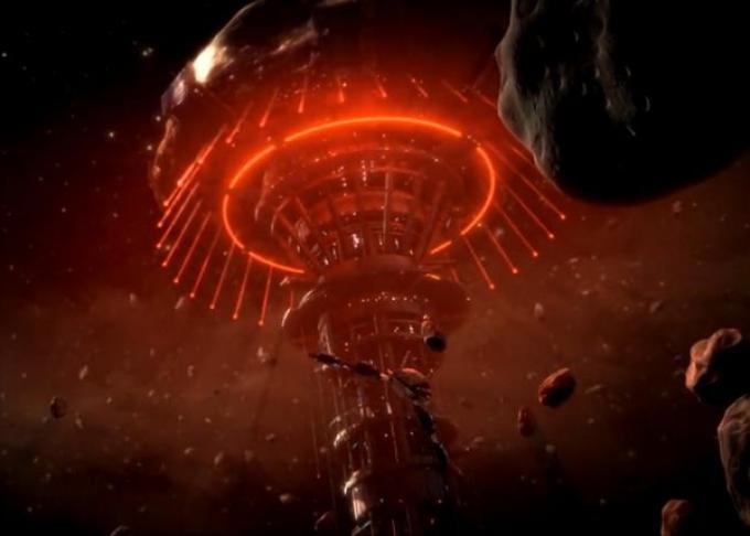 La sinistra sagoma di Omega, il covo di tagliagole più pericoloso della galassia di Mass Effect