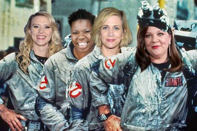 Le nuove Ghostbusters.
