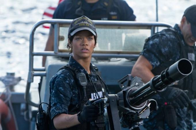 <i>Battleship</i>, il film con Rihanna