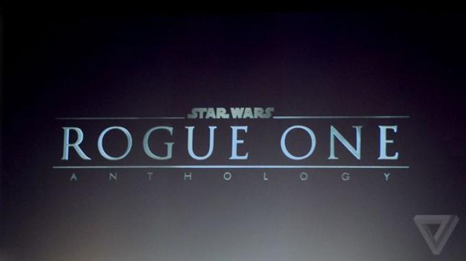 il logo ufficiale di Rogue One