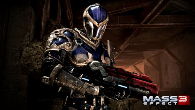La tuta disegnata da Todd McFarlane per Mass Effect 3