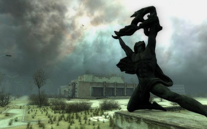 Un'immagine della Zona di Stalker: Call of Pripyat
