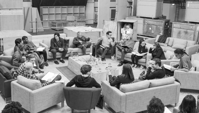 Il cast di Star Wars - Episode 7