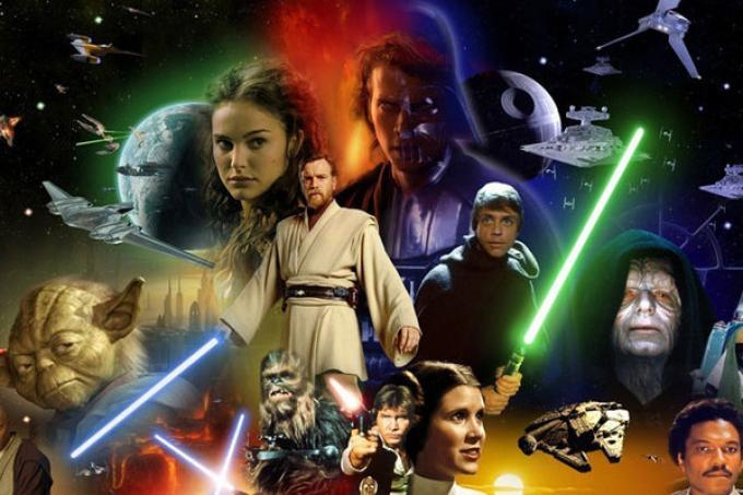 il passato, il presente, il futuro di Star wars...