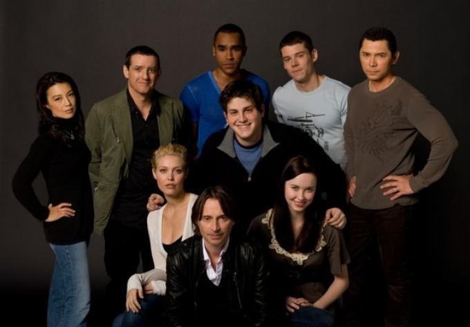 Il cast di Stargate Universe