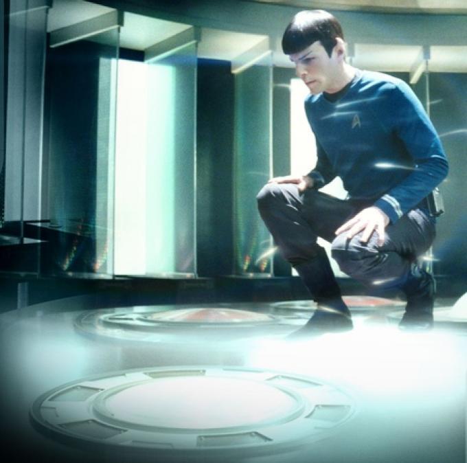 Spock si teletrasporta