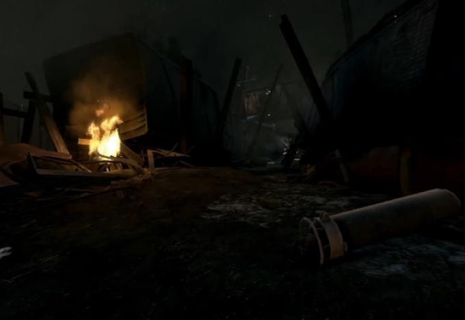 Un fotogramma del trailer interattivo di Super 8 tra gli extra di Portal 2 (Pc e Mac)