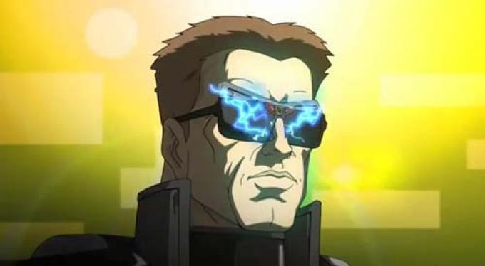 Arnold in versione cartone animato